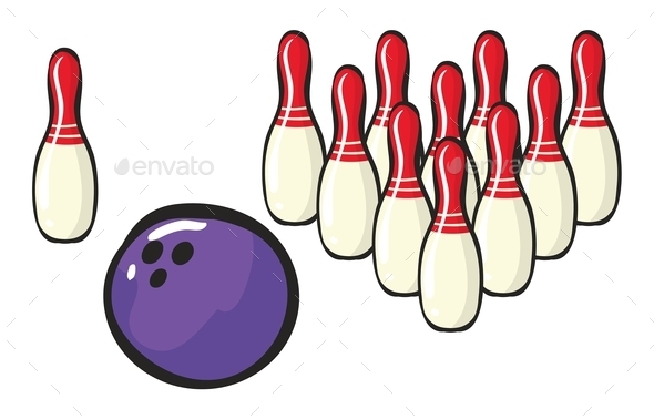 Bowling - Man-made Objects Objects