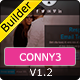 CONNY3 - Responsive Email With Template Builder Nulled