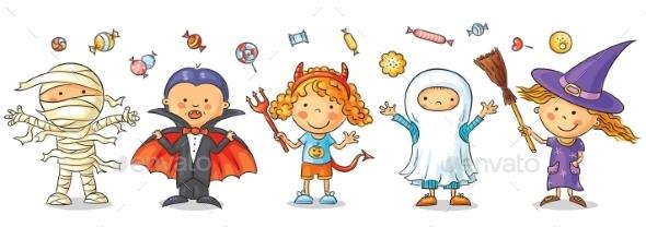 Halloween Kids - Halloween Seasons/Holidays
