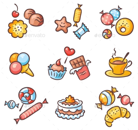 Sweets - Food Objects