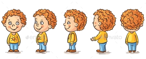 Baby Cartoon - People Characters