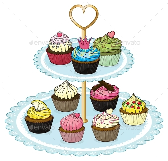 Cupcake Tray  - Food Objects