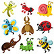 Bug Icons - GraphicRiver Item for Sale