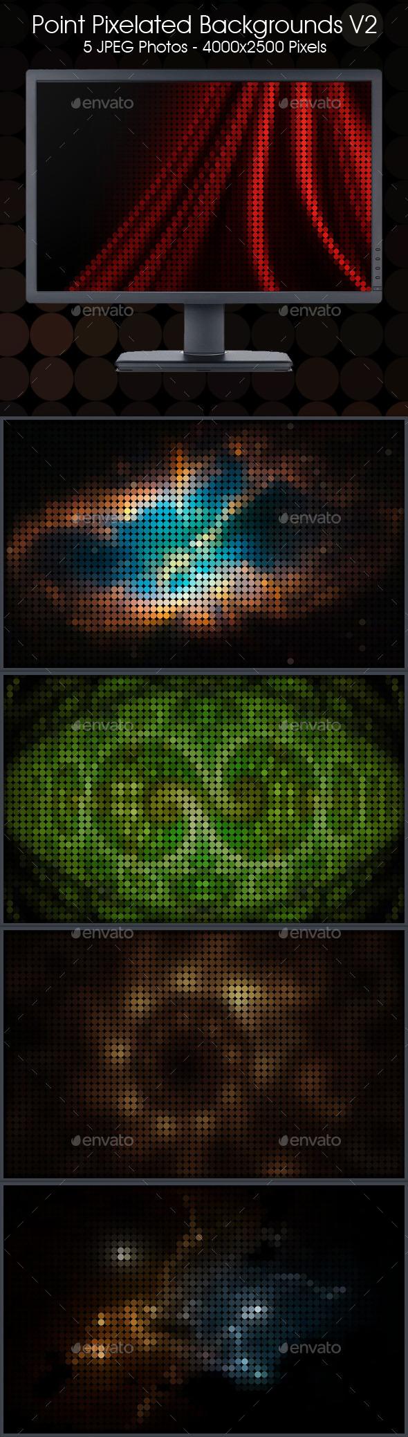 Pixelate Backgrounds V2 - Backgrounds Graphics