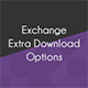 Exchange Extra Download Options - CodeCanyon Item for Sale