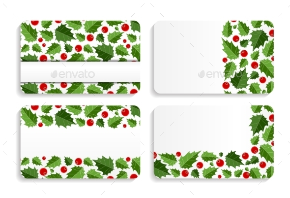 Abstract Beauty Christmas and New Year Card Vector - Christmas Seasons/Holidays