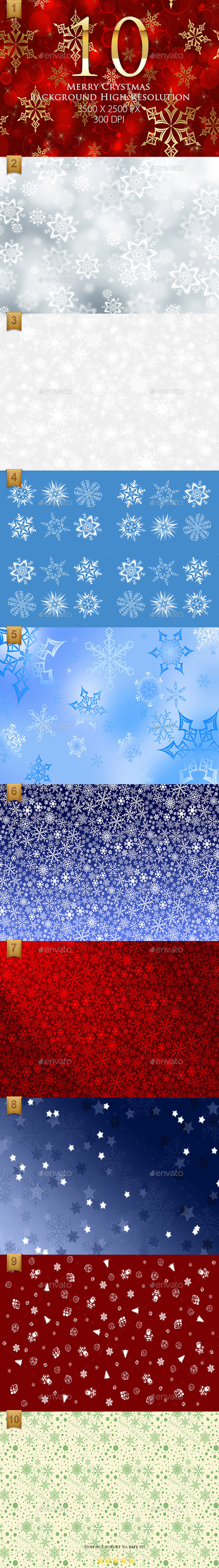 10 Merry Christmas Background High Resolution Part1 - Abstract Backgrounds