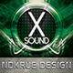 X Sound Flyer - GraphicRiver Item for Sale