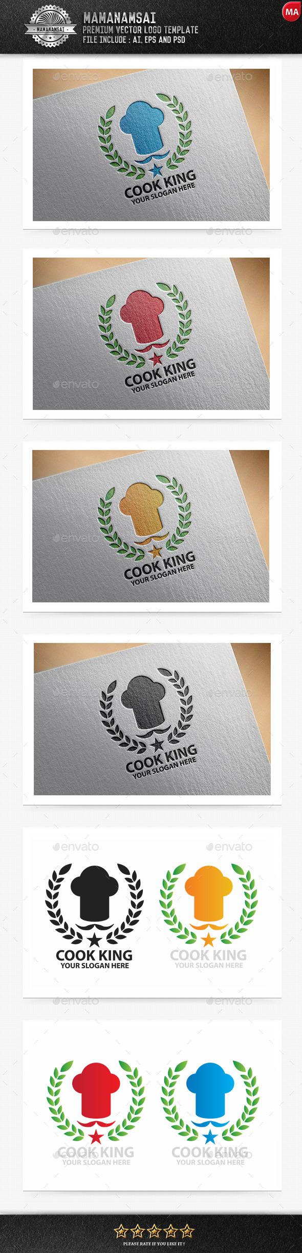 Cook King Logo - Logo Templates
