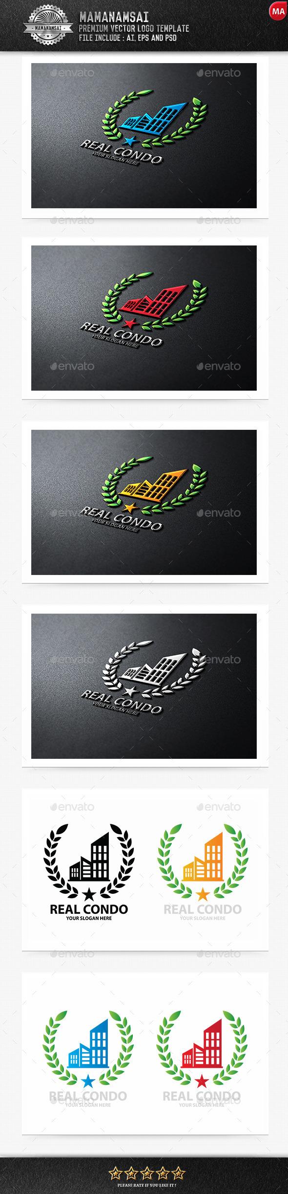 Real Condo Logo - Logo Templates