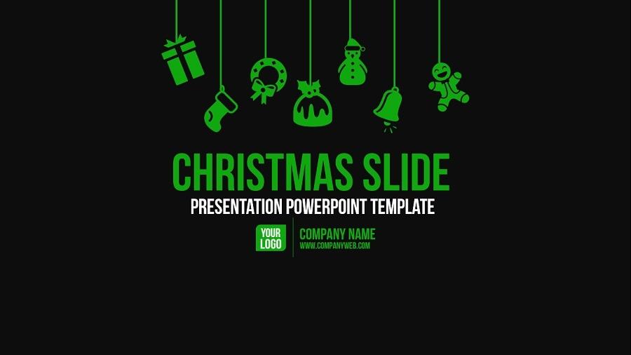 Christmas Slide Presentation Powerpoint Template By Presentakit