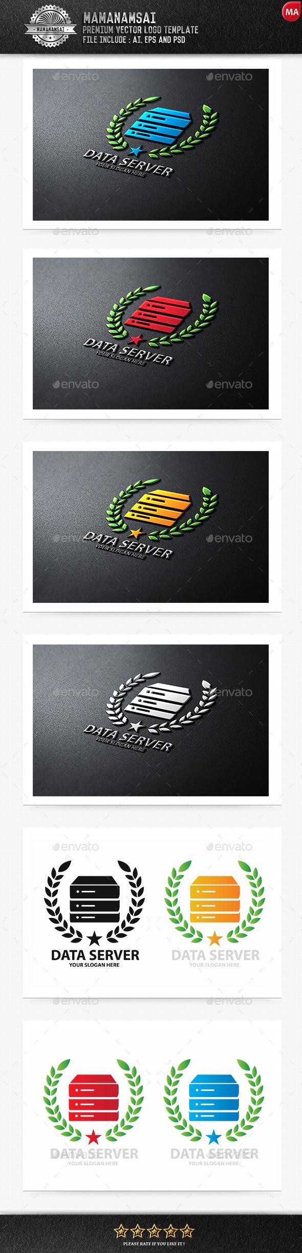 Data Server Logo - Logo Templates