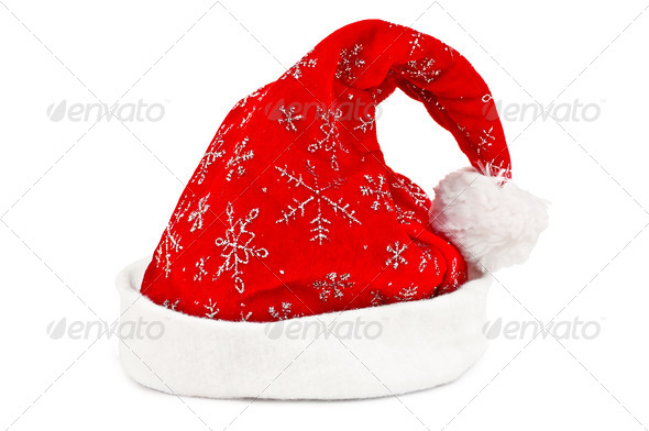 Christmas cap - Stock Photo - Images