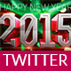 2015 New Year Twitter Cover Vol:1 - GraphicRiver Item for Sale