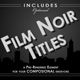 Film Noir Titles - VideoHive Item for Sale