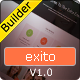 Exito - Responsive Email Template With Builder - ThemeForest Item for Sale
