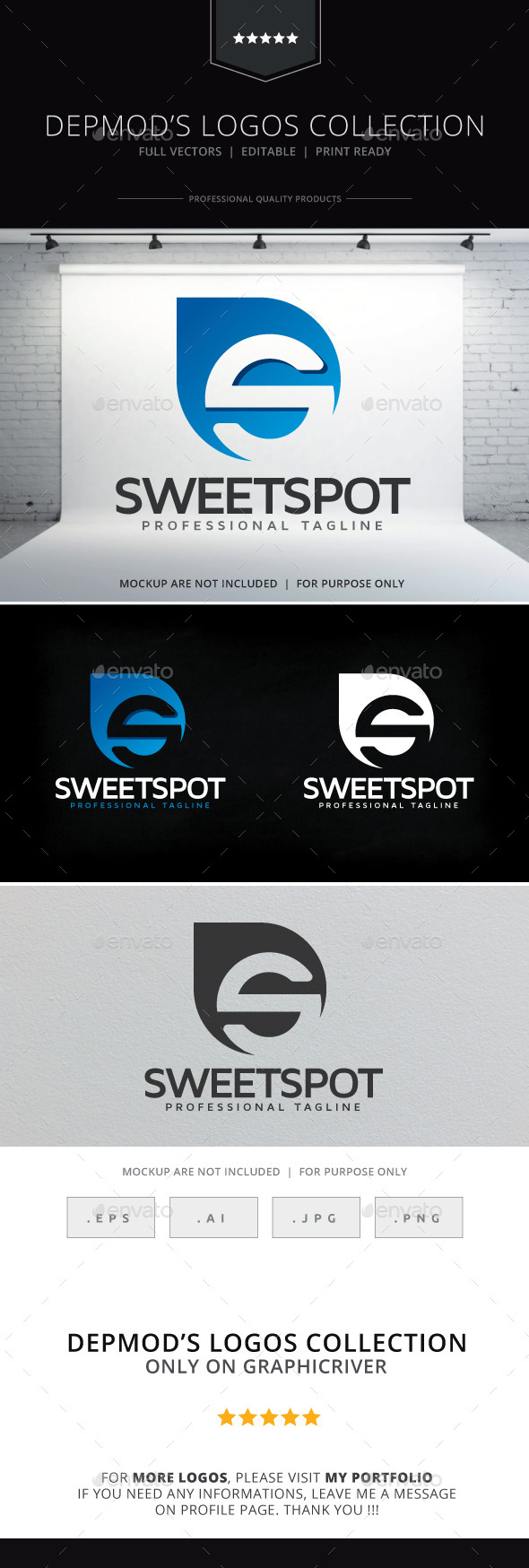 Sweet Spot Logo - Letters Logo Templates