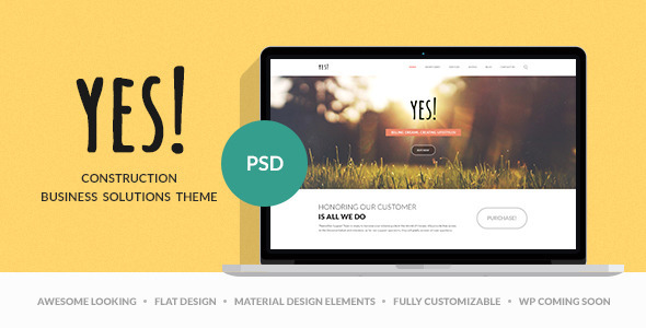 Yes! | Multi Purpose PSD Template - PSD Templates