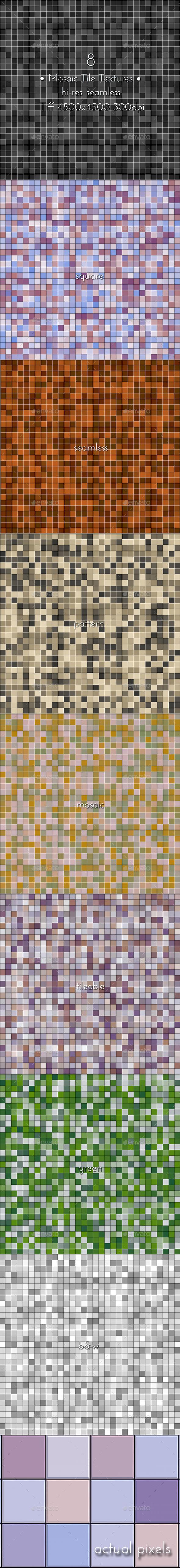 Mosaic Tile Textures - Miscellaneous Textures