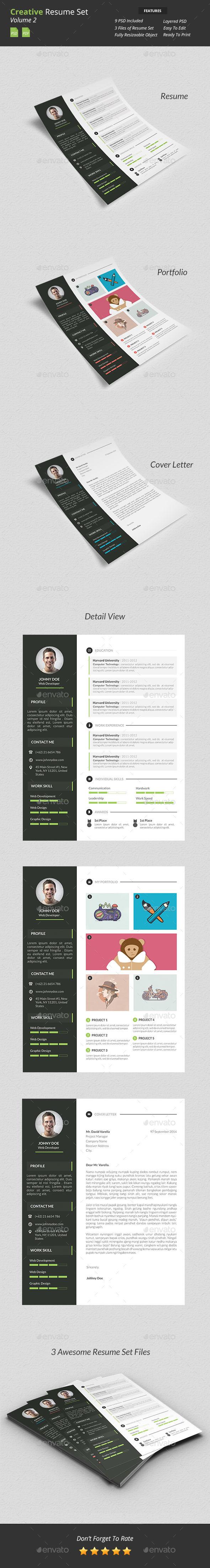 Creative Resume Set v2 - Resumes Stationery