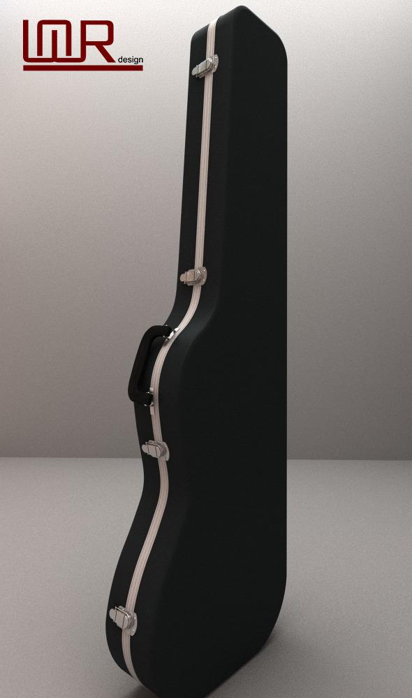 Guitar Hard Case - 3DOcean Item for Sale