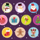 10 Flat Christmas Icons vol 2 - GraphicRiver Item for Sale