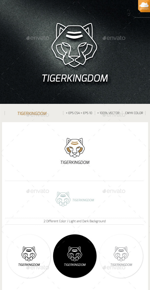 TigerKingdom - Animals Logo Templates