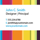 Colorful striped Business Card - GraphicRiver Item for Sale