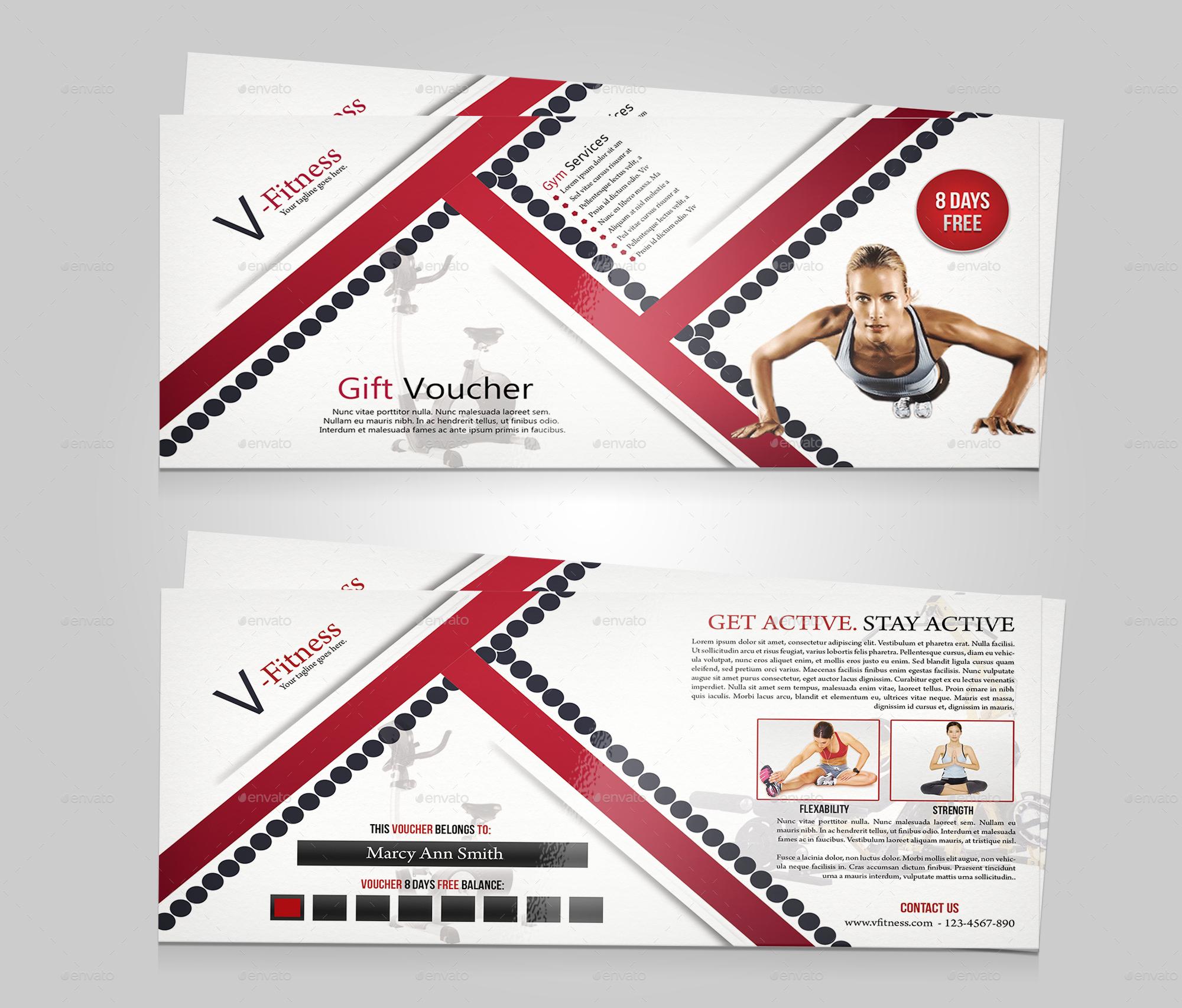 Fitness gift voucher by tfdesignstudio graphicriver fitness gift voucher yadclub Gallery