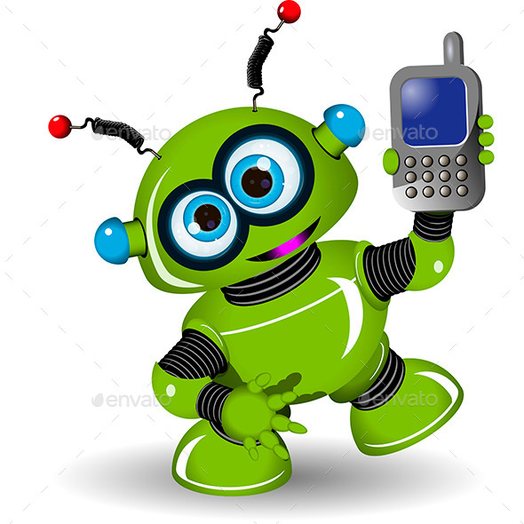 Robot and Phone - Miscellaneous Characters