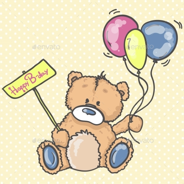 Teddy Bear  - Birthdays Seasons/Holidays