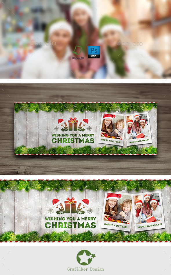 Christmas Timeline Cover Templates - Facebook Timeline Covers Social Media