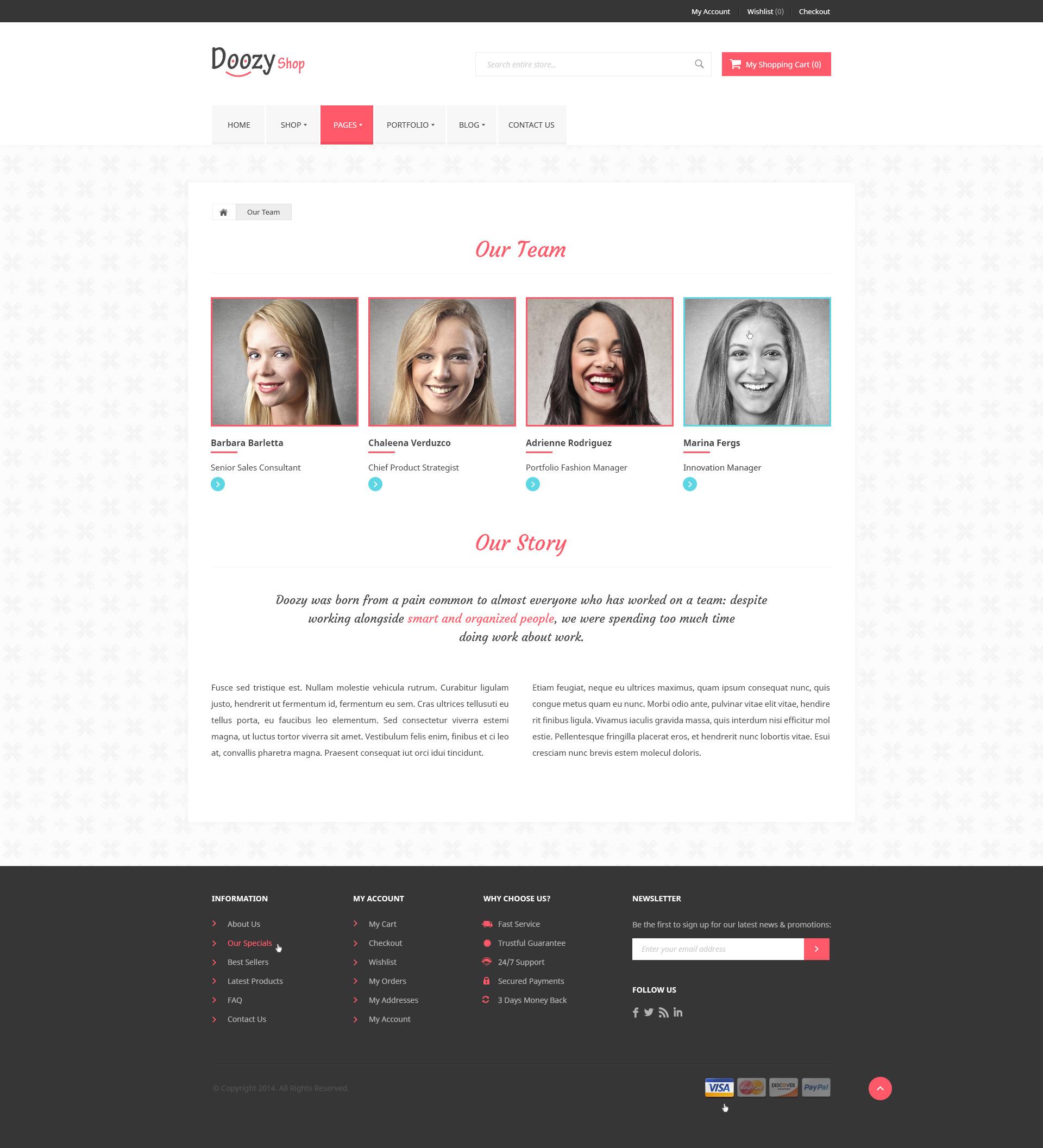 Doozy - eCommerce & Blog PSD Template by diadea3007 | ThemeForest
