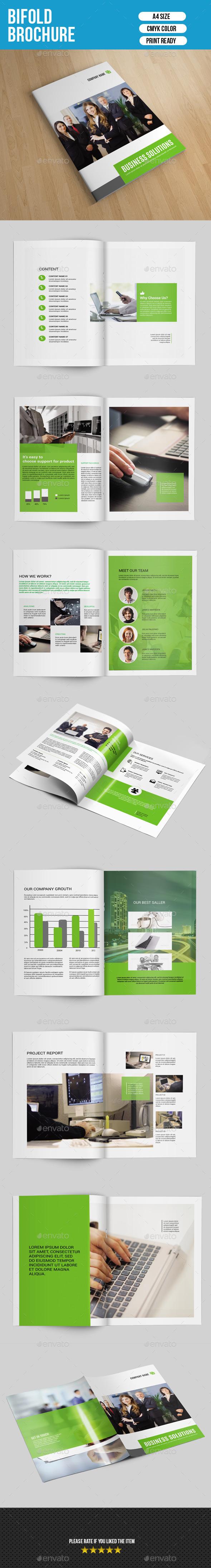 Corporate Bifold Brochure-V167 - Corporate Brochures