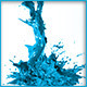 HD Abstract Water Paint Liquid Splash 18 - 3DOcean Item for Sale