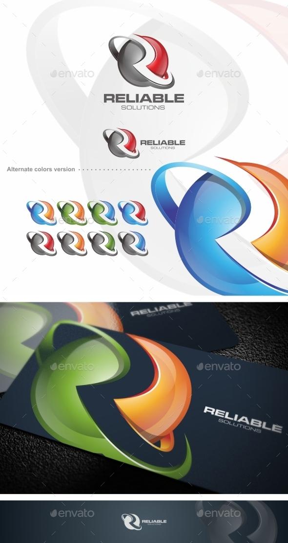 Reliable / R Letter - Logo Template - Letters Logo Templates
