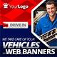 Multipurpose Car & Moto Web Banners - GraphicRiver Item for Sale