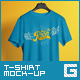 T-Shirt Mock-Up Male Model / Classic Edition - GraphicRiver Item for Sale