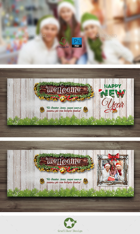 Christmas Cover Timeline Templates - Facebook Timeline Covers Social Media