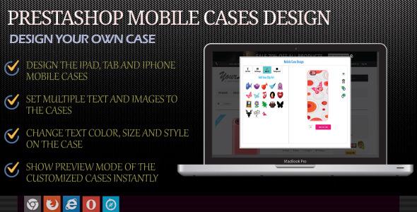 Mobile Case Designer Module for Prestashop - CodeCanyon Item for Sale