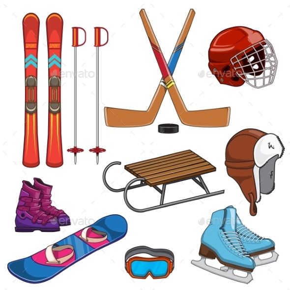 Winter Sports Collection - Sports/Activity Conceptual