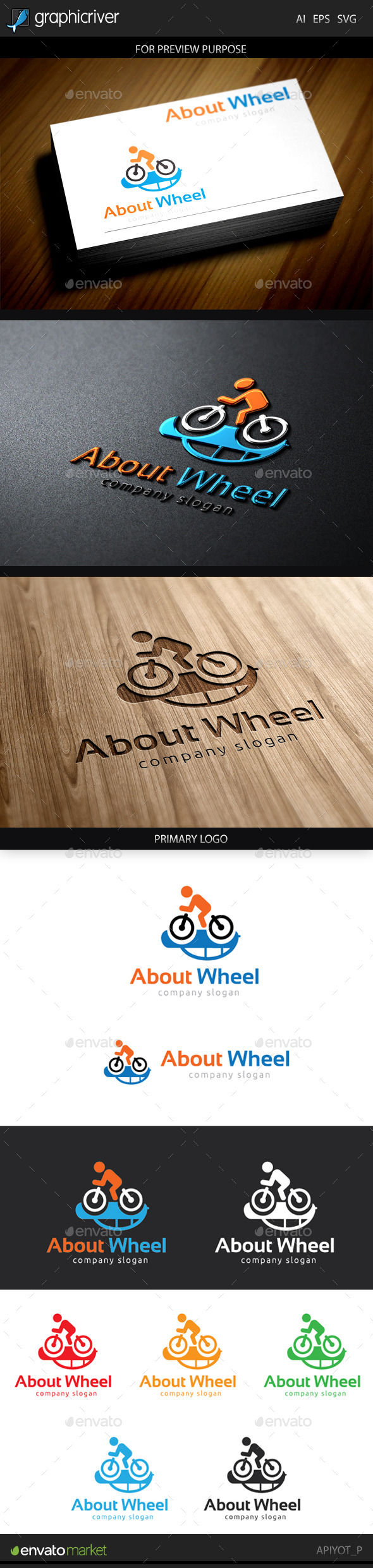 About Wheel Logo - Objects Logo Templates