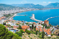 Turkish city of Alanya at the Mediterranean sea - PhotoDune Item for Sale