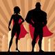 Superhero Couple 4 - GraphicRiver Item for Sale