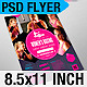 Sports Flyer: Women's Boxing - GraphicRiver Item for Sale