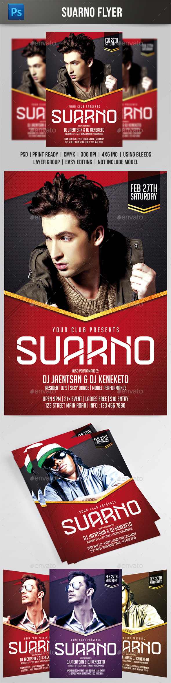 Suarno Flyer - Events Flyers