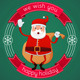 Happy Holiday From Santa - GraphicRiver Item for Sale