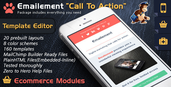 Email Template Builder Call To Action – Emailement