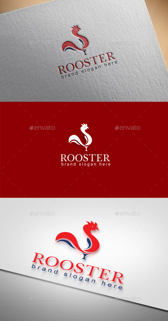 Rooster Logo - Animals Logo Templates