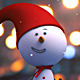 Snowman Intro - VideoHive Item for Sale
